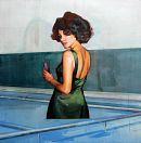 Figure With Indoor Pool  - Andrew Hollis 2010