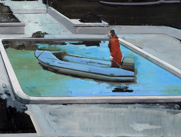 Rubber Boat with Pool - Andrew Hollis 2011
