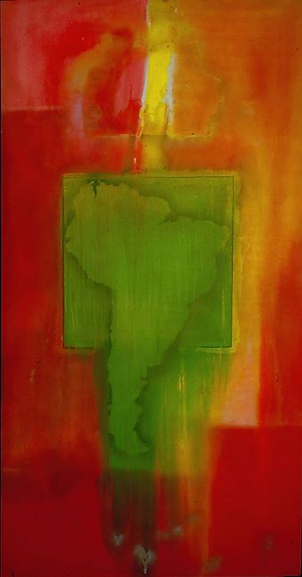 Mother's House in South America - Frank Bowling RA 1968