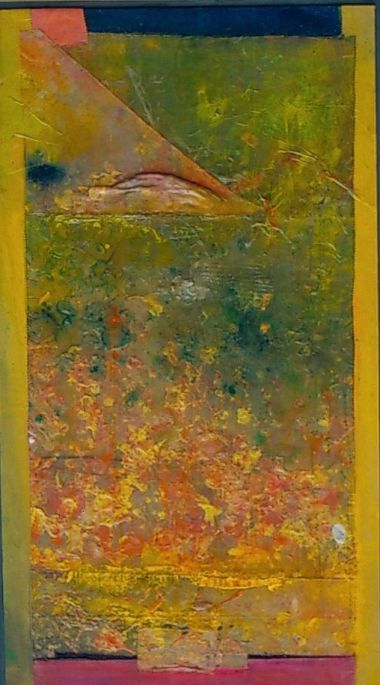 And....SN's Bookmark I - Frank Bowling RA 1998