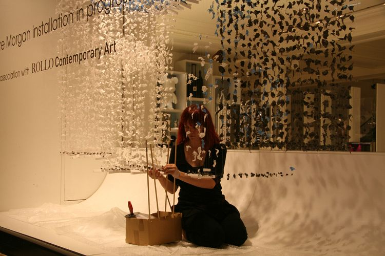 Chasing Rainbows by Claire Morgan, Rollo Art, Lond - Installing ...