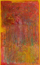 Frank Bowling Nominated for The Charles Wollaston Award at the Royal Academy Summer Exhibition